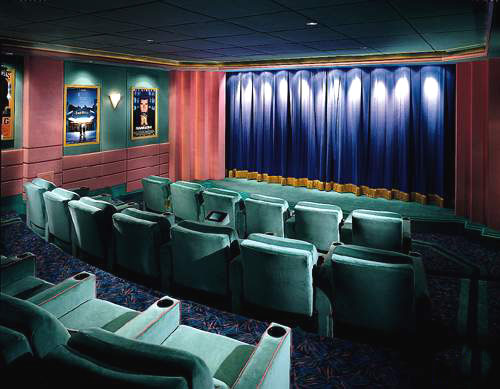 Screen curtain systems for Motorized curtains home theater